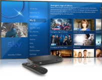 Brand New Sky Q 4k UHD 2TB Box and Irish Viewing Card in Spangdahlem, Germany