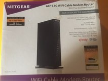 Netgear AC1750 WiFi Cable Modem Router in Fort Drum, New York