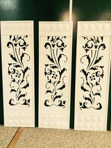 Set of 3 Metal Wall Hangings in St. Charles, Illinois