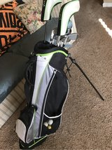 Golf bag and clubs in Fort Campbell, Kentucky