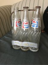Old Pepsi bottles and Metal carrier in Fort Campbell, Kentucky