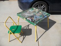 ++  Art Table + Chair  ++ in Yucca Valley, California