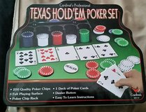 Cardinal's Professional Texas Hold'em Poker Set in Moody AFB, Georgia