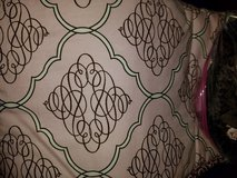 Pink & brown crib skirt and bumpers in Fort Campbell, Kentucky