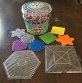 Perler beads + 9 boards in St. Charles, Illinois