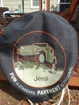 Jeep Spare Tire Cover in Kingwood, Texas