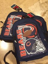 Chicago Bears backpacks brand new in Joliet, Illinois