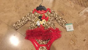 Disney Minnie Mouse outfit great for Halloween photo shoots sz 0-3 baby in Plainfield, Illinois