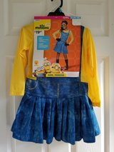 BRAND NEW! Girl Minion Costume, Size S (4-6) in Fort Campbell, Kentucky