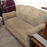 Antique couch in Ramstein, Germany