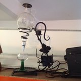 Antique wine decanter in Ramstein, Germany