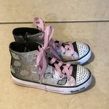 Skechers Twinkle Toes Light Up Boots Girl Size 1 1/2 EUC in Travis AFB, California