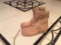 NEW COMBAT BOOTS in Ramstein, Germany