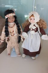 Thanksgiving Porcelain doll set in Fort Irwin, California