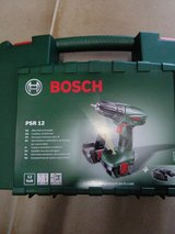 Bosch PSR 12 12v Cordless Drill Driver With 2 Batteries in Spangdahlem, Germany