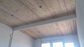 Pine tongue and groove installed in Yucca Valley, California