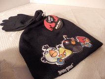 Brand New Angry Bird Hat and Gloves in Oswego, Illinois