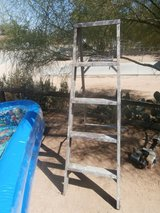 Stepladder in Yucca Valley, California