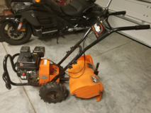 Powermate Rear Tine Gas Tiller  **REDUCED** in Beaufort, South Carolina