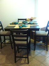 Gray Counter Height Dining Table w/chairs in Spring, Texas