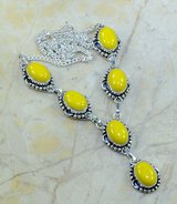 "New - Yellow Agate 19.25"" Necklace in Alamogordo, New Mexico"