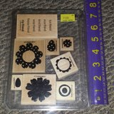 Like new!  Stampin' Up! SU Polka-Dot Posies Stamps in Chicago, Illinois
