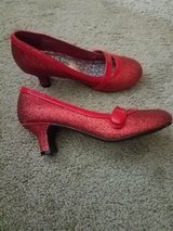 Cute Red Heels for Girls size 1 Youth in Macon, Georgia