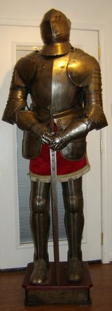 "Suit of Armor ""Carlos the V"" in Fort Knox, Kentucky"