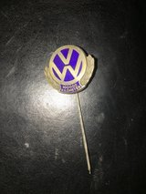 VW lapel pin in Fort Knox, Kentucky
