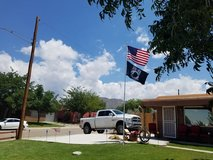 American Flag With Pole in Alamogordo, New Mexico