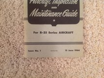 WW2 B-25 Bomber Manual in Alamogordo, New Mexico