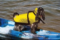 PetSafe Fido Float Water Safety Vest for Dogs, Medium, Yellow in St. Charles, Illinois