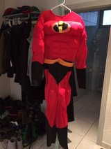 Reduced! Halloween Costume  - Adult Deluxe Muscle Mr Incredible Costume in Ramstein, Germany
