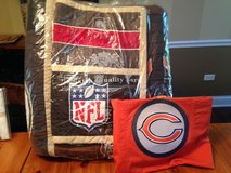 Pottery Barn NFL F/Q Quilt and Sham+Bears Sham NFC League in Oswego, Illinois