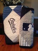 Pottery Barn Teen MLB F/Q Quilt and Sham-American League in Oswego, Illinois