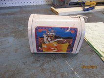 Arts and crafts mail box in Alamogordo, New Mexico