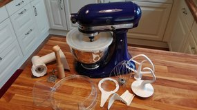 Kitchenaid Ultra Power Mixer with grinder and other attachments, 110 in Stuttgart, GE