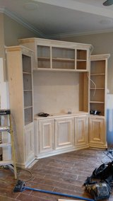 Custom cabinets built on site all styles in Conroe, Texas