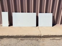 1/4IN USED PEGBOARD MULTIPLE SIZES FOR SALE/ DONATION in Alamogordo, New Mexico