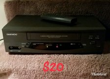 Daewoo VCR VHS Player in Macon, Georgia