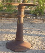 1920's Cast Iron Table Stand - Rustic in 29 Palms, California