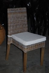 wicker dining chairs x 4 NEW AND UNUSED in Lakenheath, UK