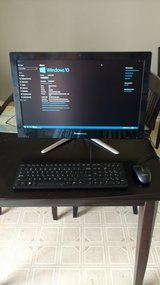 """Lenovo C540 23"""" All-in-One Fast SSD Upgrade. Was $1000 New in 29 Palms, California"""