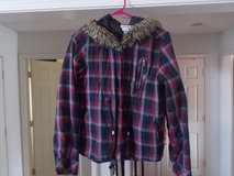 CUTE JACKET W/ HOOD SIZE LARGE in Fort Campbell, Kentucky