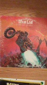 Meat Loaf  (Bat out of Hell)  33 rpm LP in Alamogordo, New Mexico