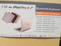 "iPad Bluetooth keyboard/case (for iPad Pro 9.7"") in Oswego, Illinois"