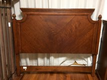 Reduced: Queen size headboard, mattress frame, dresser with mirror, chest of drawers, nightstand... in Okinawa, Japan