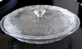 Oval Glass Dish With Lid, Oven proof in St. Charles, Illinois