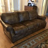 Lexington Leather Couch in Byron, Georgia