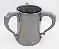 Rowell Oxford Three handled pewter tankard from UK in Bolingbrook, Illinois
